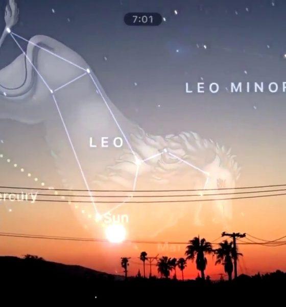 App guider dig til himmelske stjernebilleder