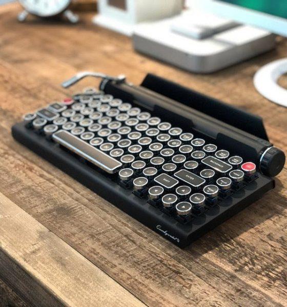 Nostalgi til skrivearbejdet med old school tastatur