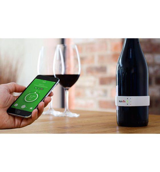 Sådan skal vinen drikkes! Intelligent termometer giver optimal smagsoplevelse