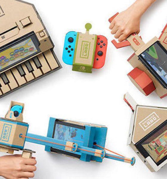 Årets sjoveste legetøj er fra Nintendo og lavet af pap
