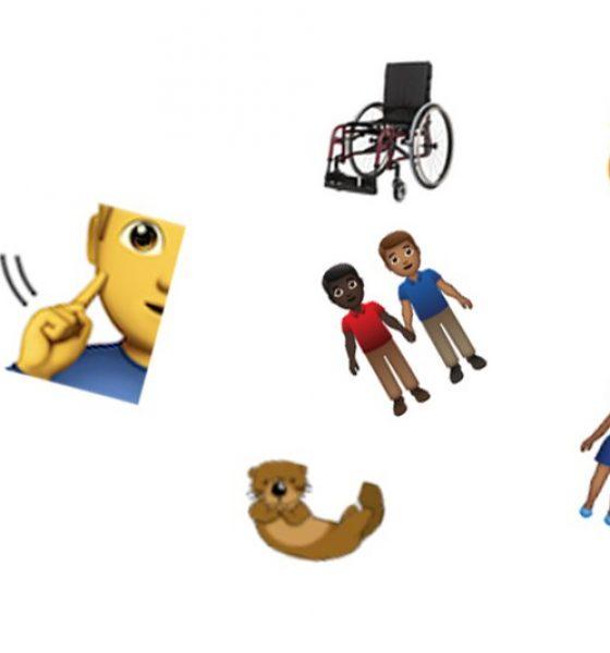Nye emojis er på vej- til når du lige mangler en odder og en førerhund