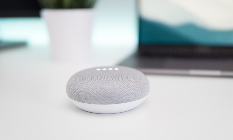 Mini smart speaker google home