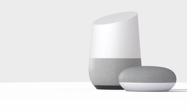 Smart home speakers google home