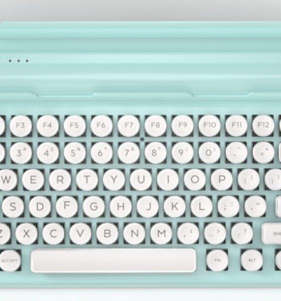 Nostalgi med old school tastatur – nu i pasteller