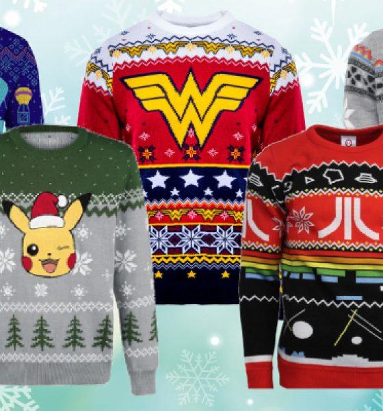 5 nørdede julesweatre – du får svært ved at vælge!