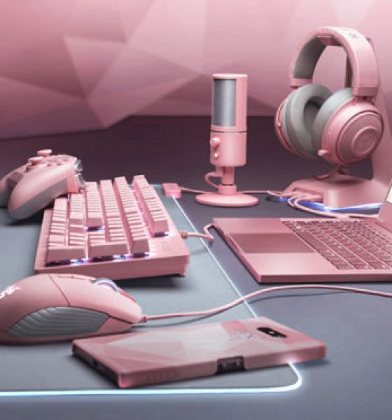 Computerfirma fejrer Valentinsdag –  går amok i lyserødt