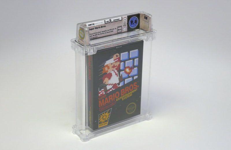 Dine gamle spil er guld værd: Super Mario-spil solgt for 100.000 dollars