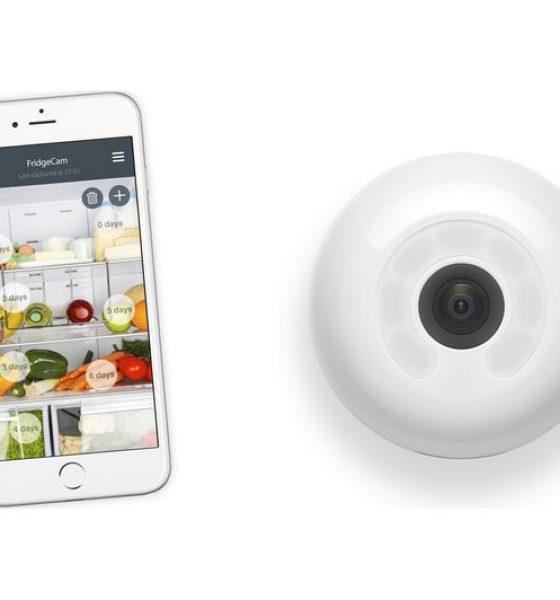 Reducer madspild: Trådløst kamera holder styrer på sommerhusets køleskab