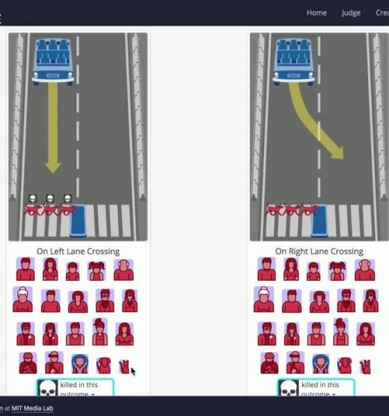 Test dig selv: Hvem skal reddes, når den selvkørende bil kører galt?