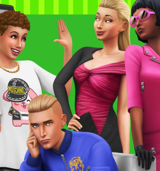 The Sims 4 bliver high-fashion