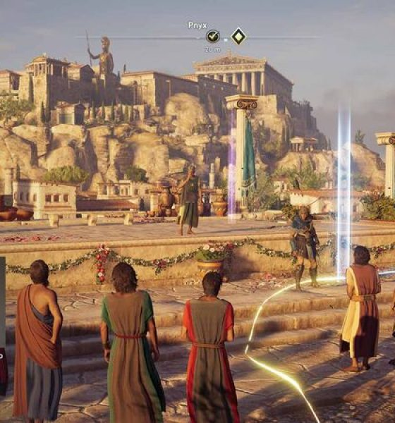 Computerspil erstatter historiebøgerne til undervisning om det gamle Grækenland