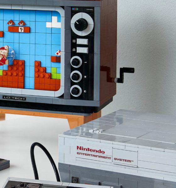 Nu kan du få din barndoms Nintendo-maskine i LEGO