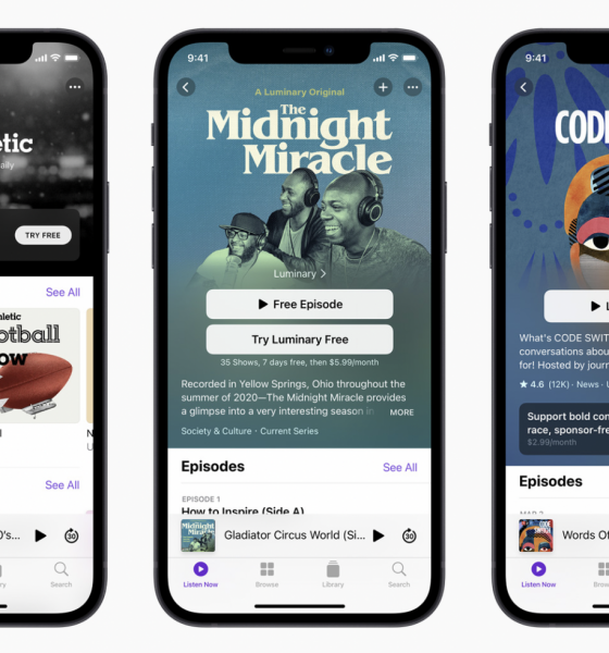 Nu kan podcastere sælge abonnementer direkte gennem iTunes